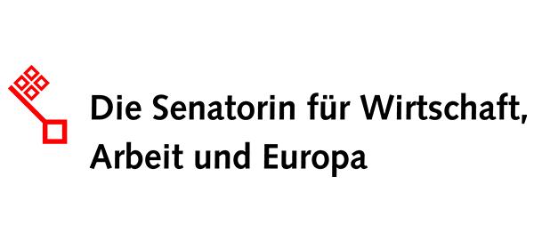 Logo: Die Die Senatorin für Wirtschaft, Arbeit und Europa